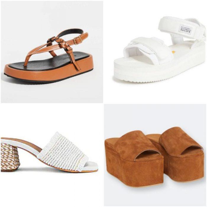 Sandalias de moda verano 2022