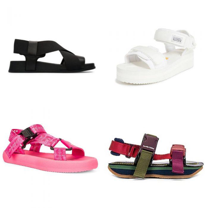 Sandalias deportivas calzados verano 2022