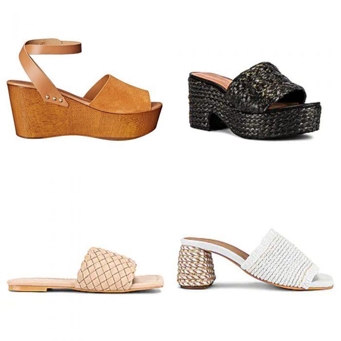 Sandalias tiras anchas calzados verano 2022