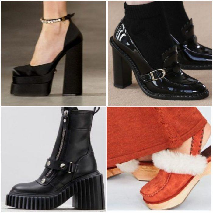 Tendencias calzado de moda invierno 2022