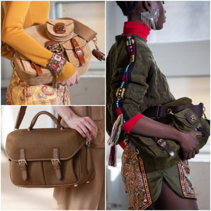 bolso mensajero retro bolsos de moda invierno 2022