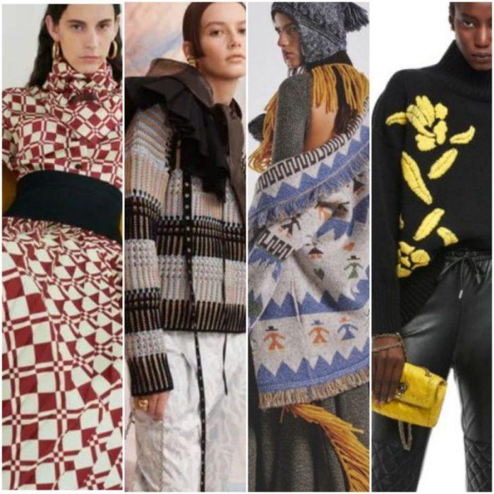 estampados de moda Tendencias invierno 2022