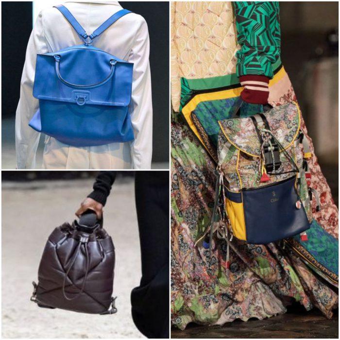 mochilas bolsos de moda invierno 2022