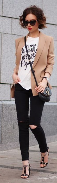 outfit casual elegante juvenil