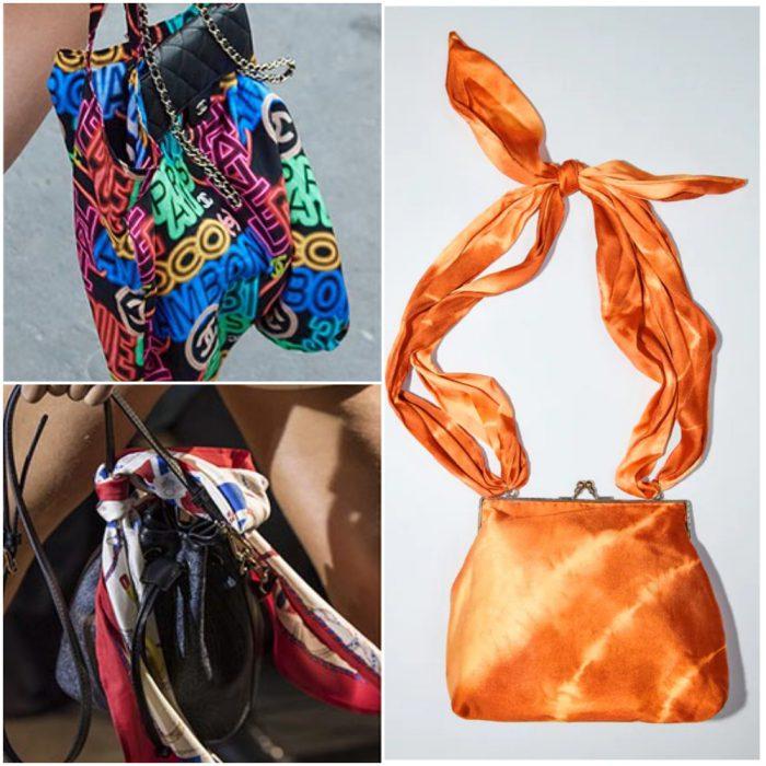 panuelo bolsos de moda verano 2022