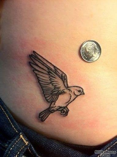 tatuaje alondra pequeno