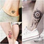 tatuaje tobillos mujer