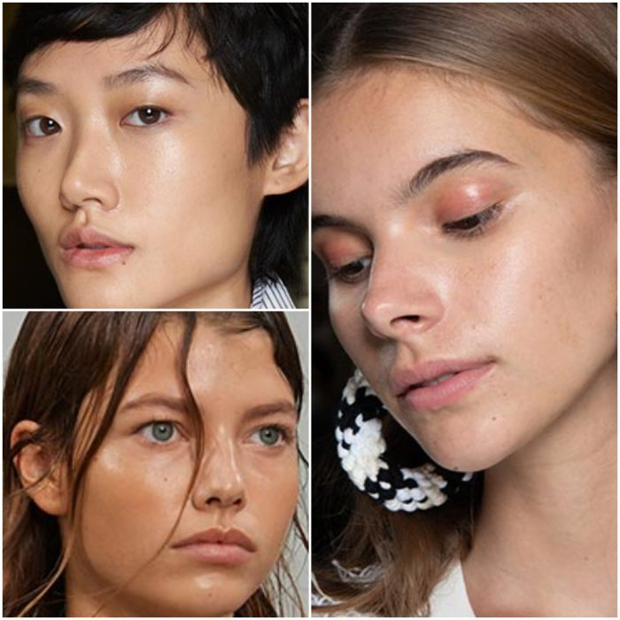 Al natural tendencia en maquillaje 2022