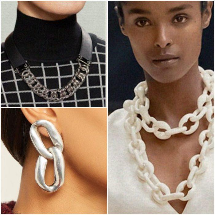 Cadenas Joyas de moda invierno 2022
