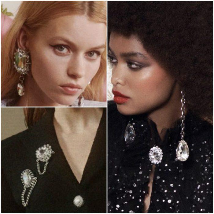 Diamantes Joyas de moda invierno 2022