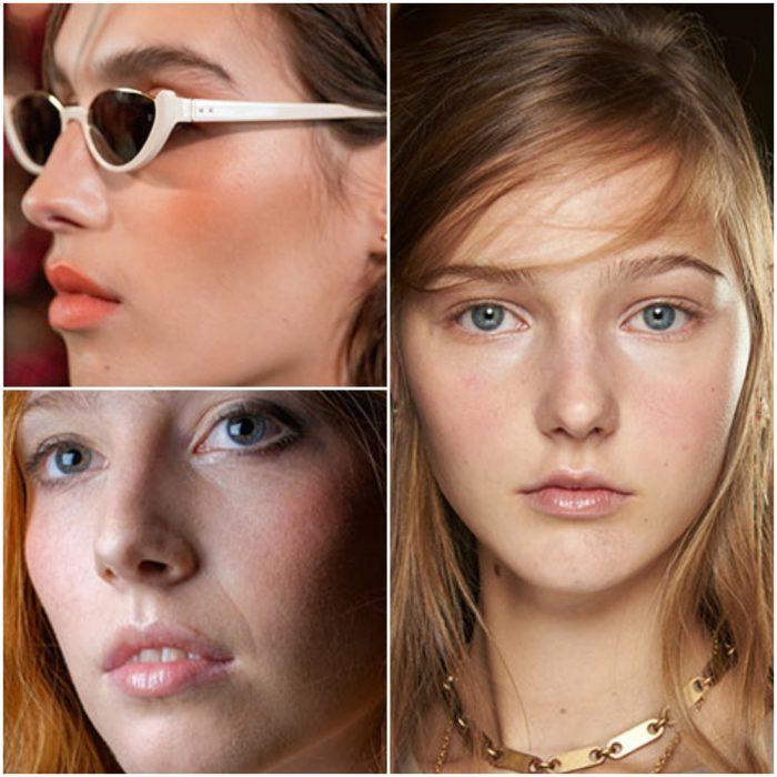 Rubor primaveral tendencia en maquillaje 2022