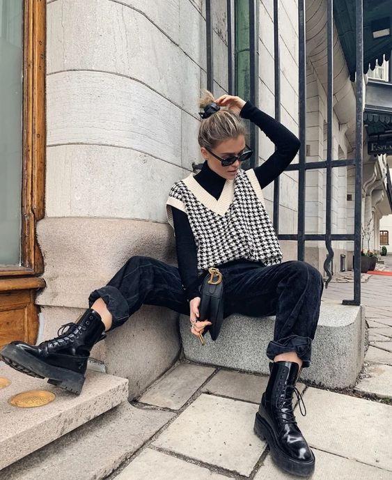 chalecos de moda invierno 2022