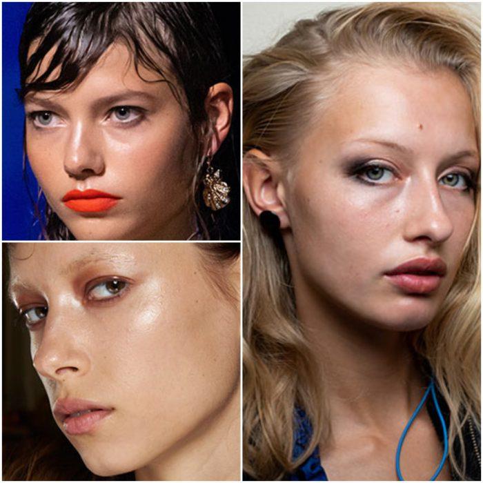 efecto humectante tendencia en maquillaje 2022