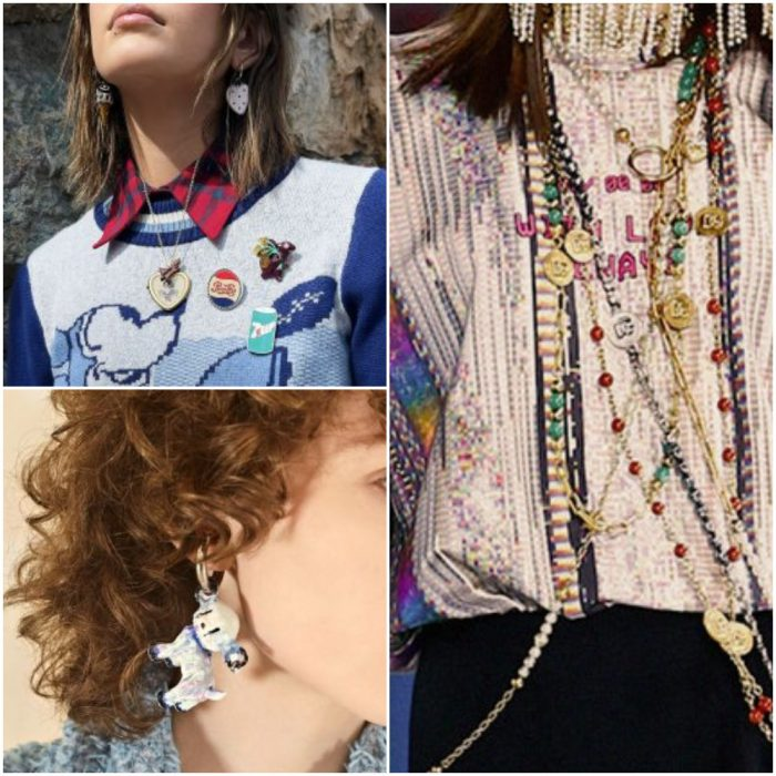 juveniles y divertidas Joyas de moda invierno 2022