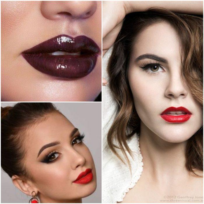 labiales tendencia en maquillaje invierno 2022