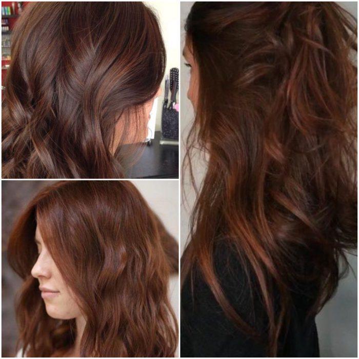 suave chocolate tendencia color cabello invierno 2022