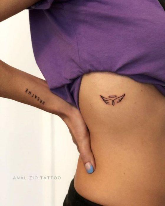 tatoo alas de angel pequeno s