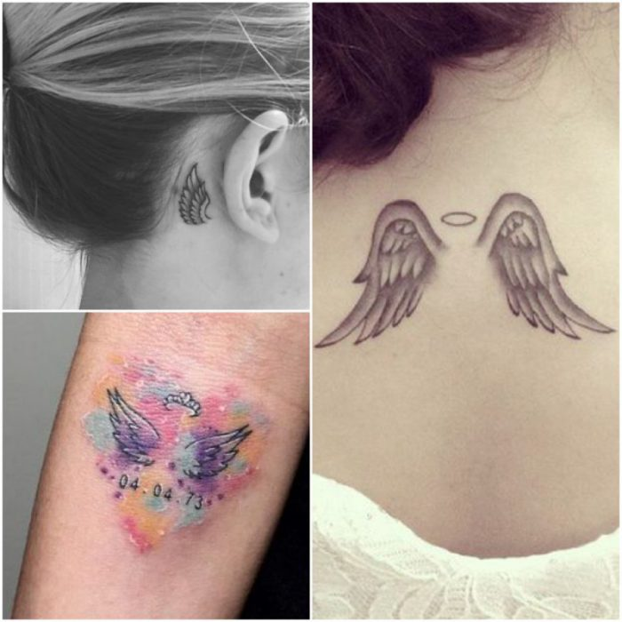 tatoo alas de angel