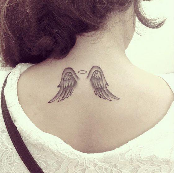 tatuaje alas angel espalda