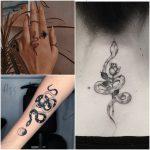 tatuajes serpientes mujer