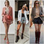 look con short y blazer 1