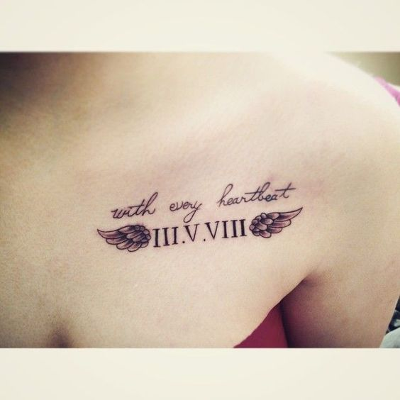 tatoo angel alas mujer