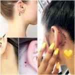 tatoo atras de la oreja