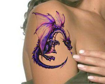 tatuaje drgon a color